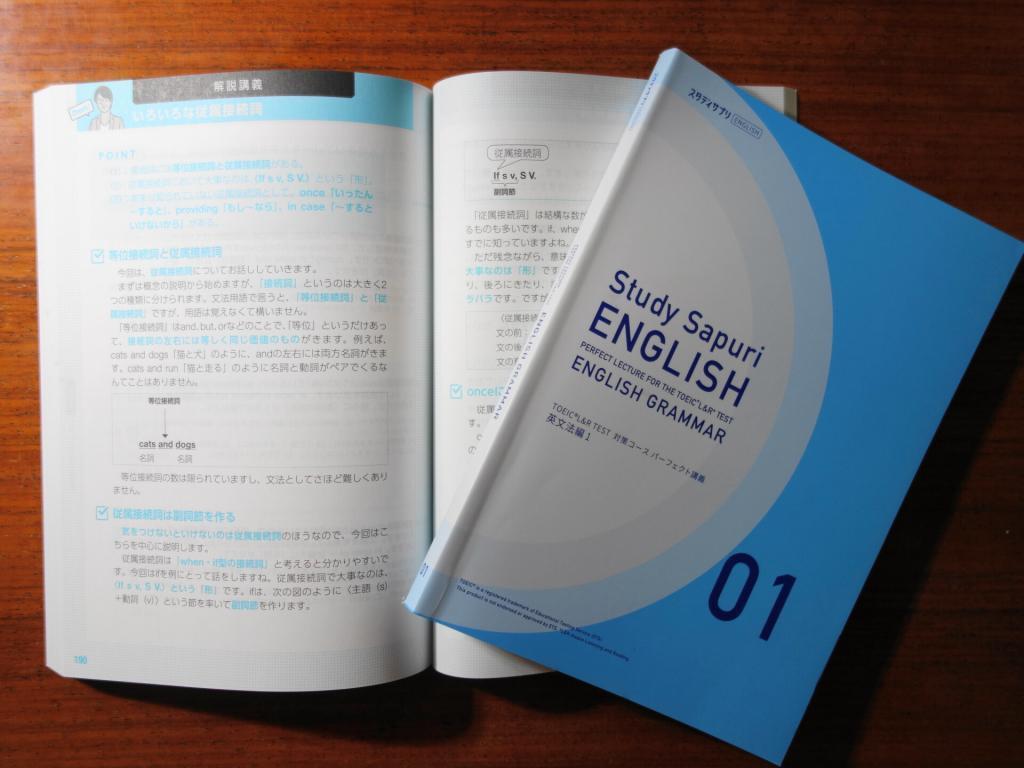 パーフェクト講義英文法編のテキスト