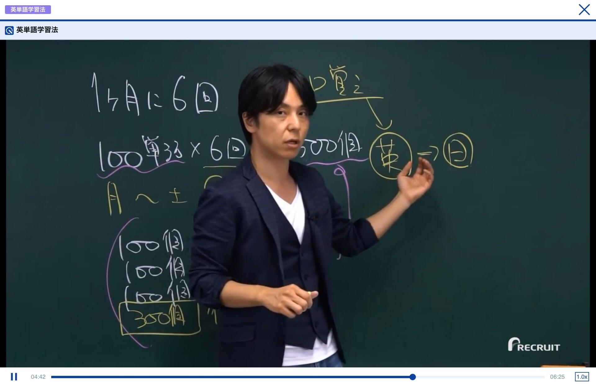 TEPPAN英単語の勉強法動画