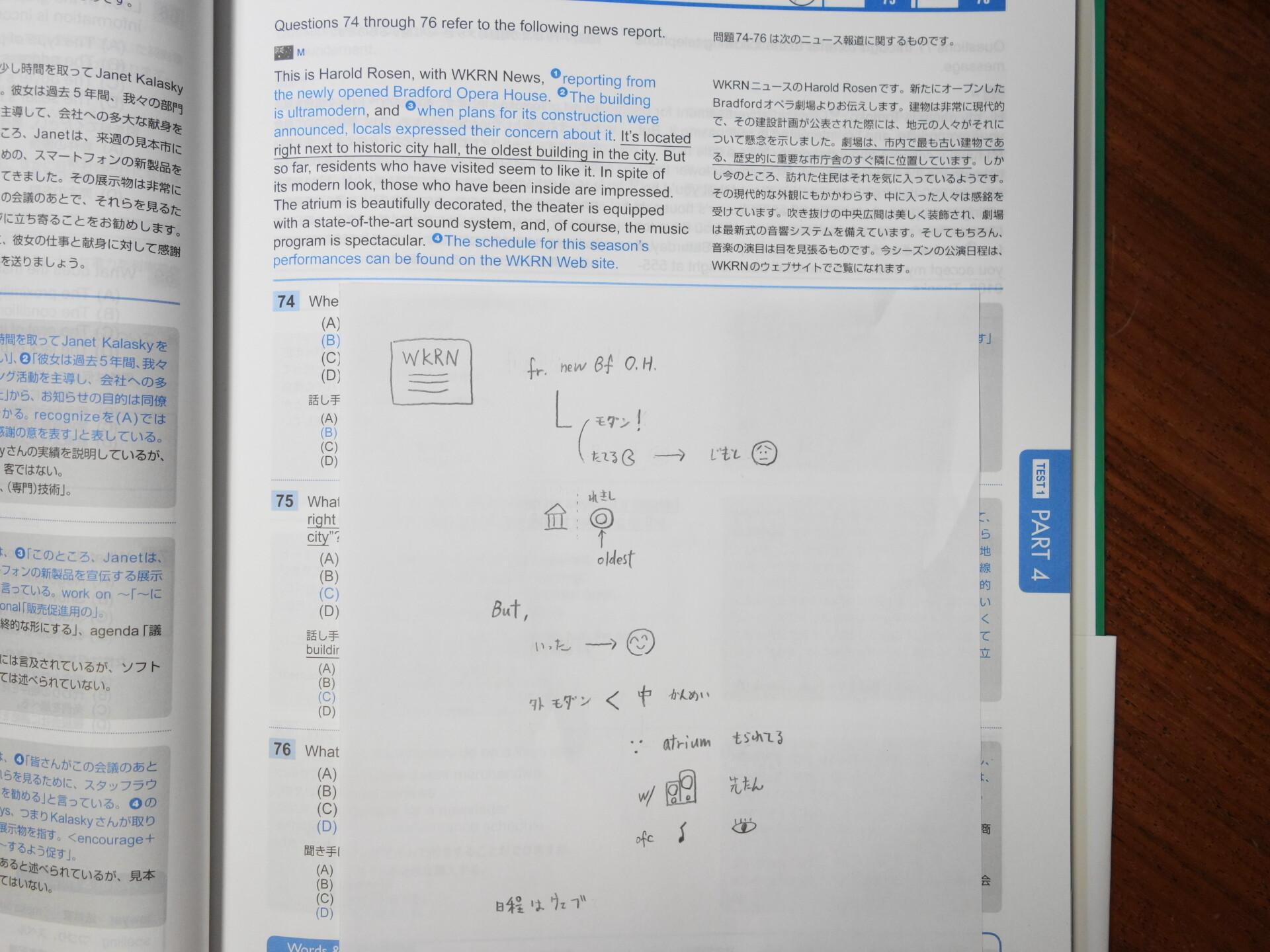 ノートテイキングの実践例