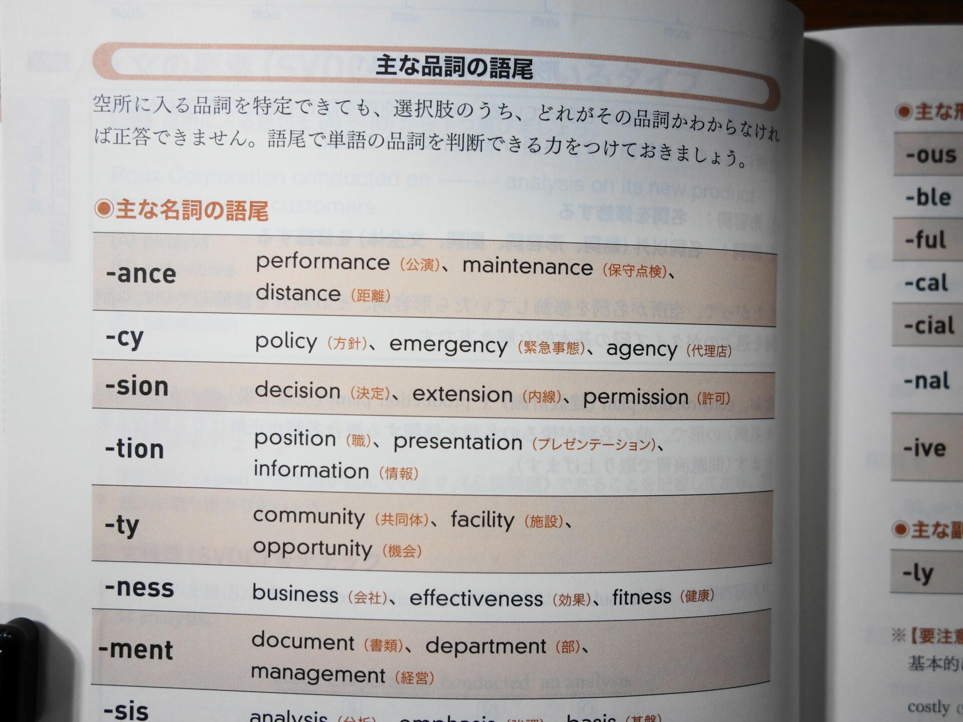 文法知識のまとめ