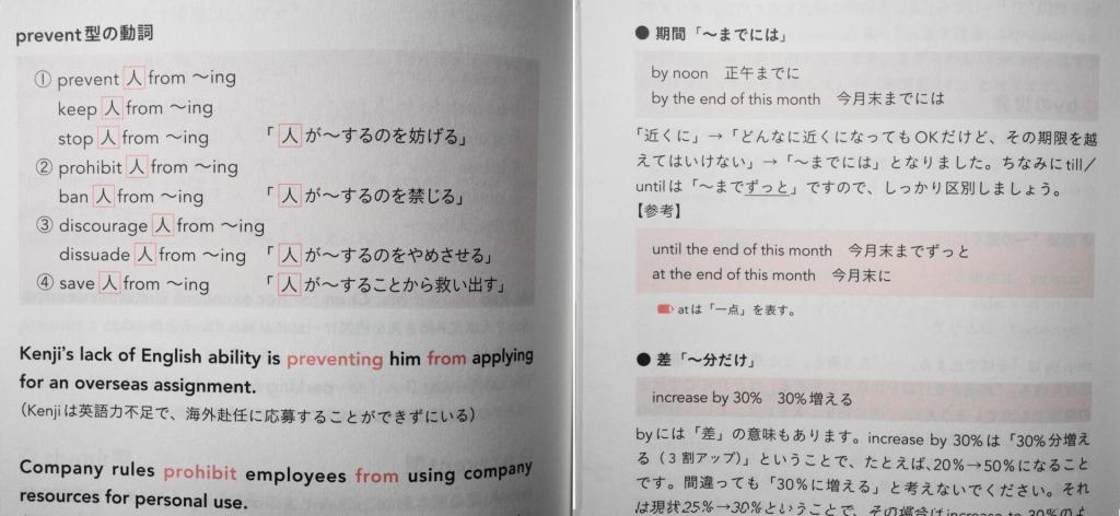 世界一わかりやすい英単語の巻末内容