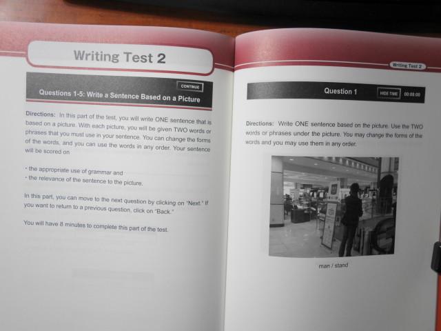 模擬試験のレビュー