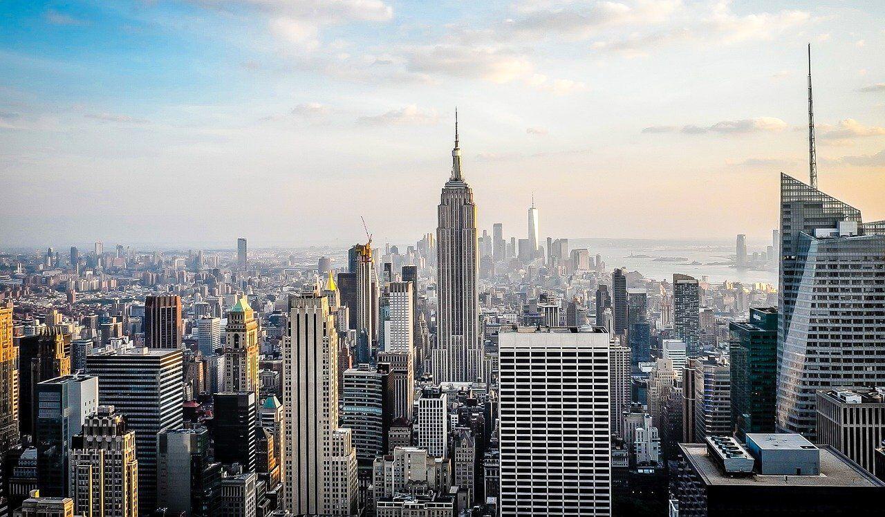 大都会の様子