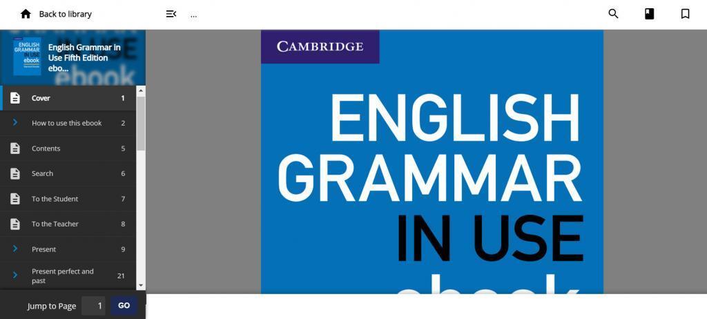 ENGLISH GRAMMAR IN USEのebook