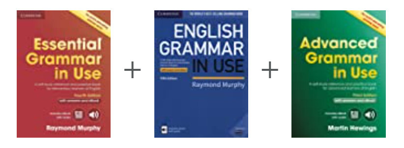 English Grammar in Useシリーズの表紙