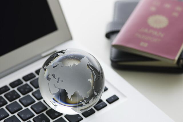 地球とパスポート